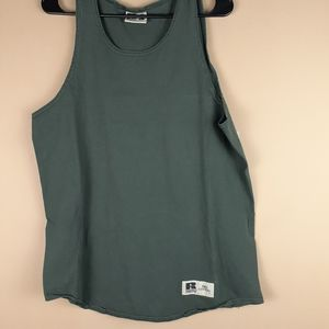 Russell Athletic muscle mens tank top size L